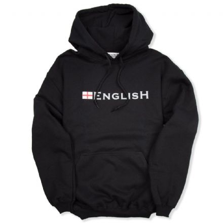 """English"" England Hoodie - Black"